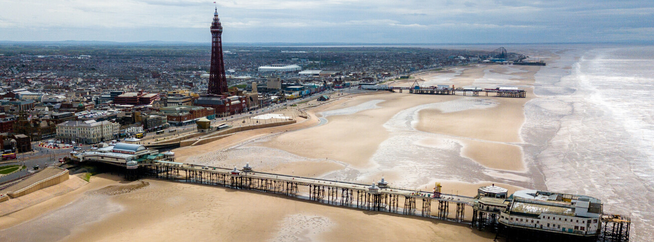 Blackpool Seafront and Promenade