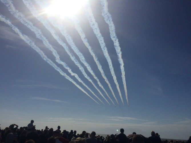 100K Pack The Prom for the 108th Blackpool Air Show