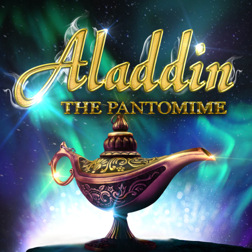 Aladdin The Pantomime at The Globe, Blackpool Pleasure Beach