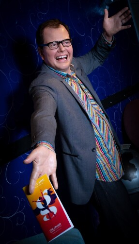 Blackpool Grand Theatre gets a helping hand from Alan Carr and Craig Revel Horwood at Madame Tussauds