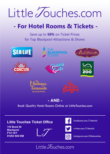 Save up to 50% on Blackpool Attraction and Show Tickets - Tower Eye, Ballroom, Circus, Dungeon - SeaLife, Madame Tussauds - Funny Girls, Blackpool Zoo