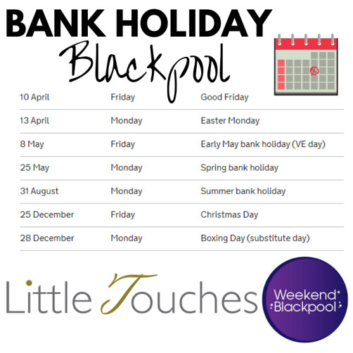 Bank Holiday Blackpool. Hotels Filling Up Fast for Peak Periods
