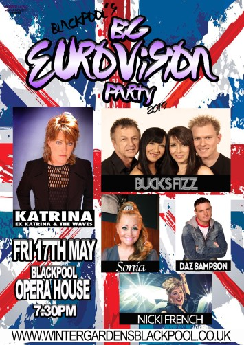Blackpool's Big Eurovision Party at the Winter Gardens Opera House