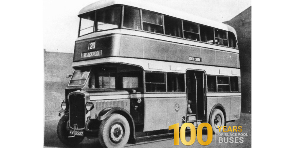 Blackpool Transport celebrates 100 years of buses with a bumper weekend of events