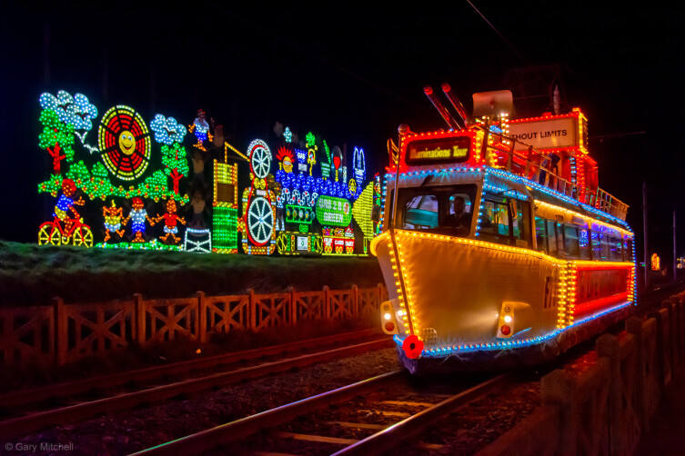 Blackpool Heritage Tram Illuminations