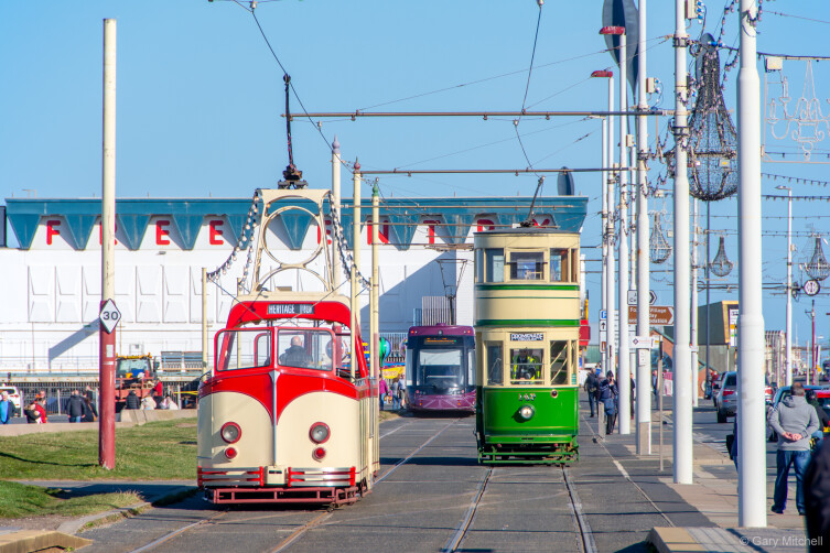 Blackpool's Heritage Trams are set to return for the 2021 season
