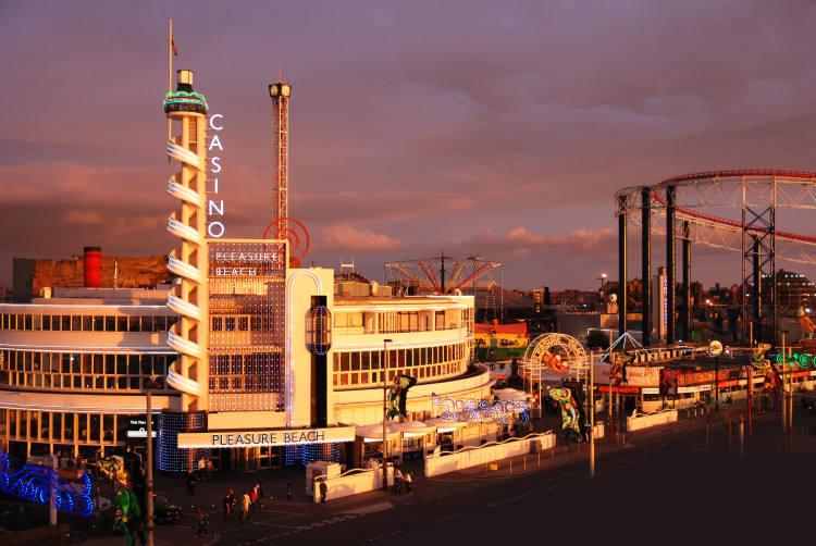 Blackpool Pleasure Beach Casino Building