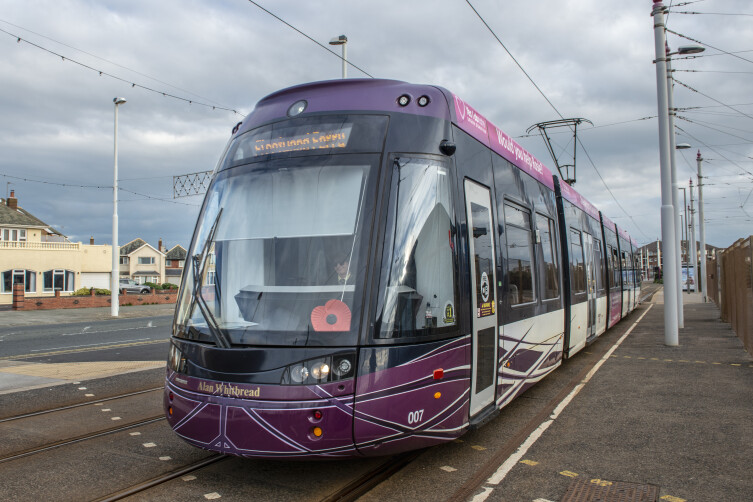 Blackpool Tram at Starr Gate