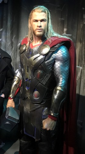 Thor Waxwork at Madame Tussauds