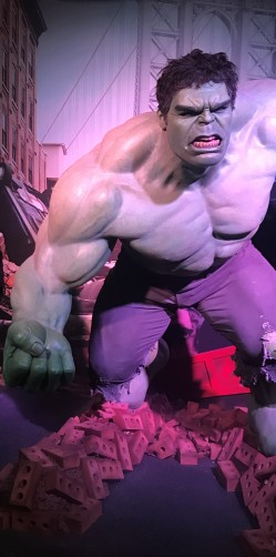 The Incredible Hulk Waxwork at Madame Tussauds
