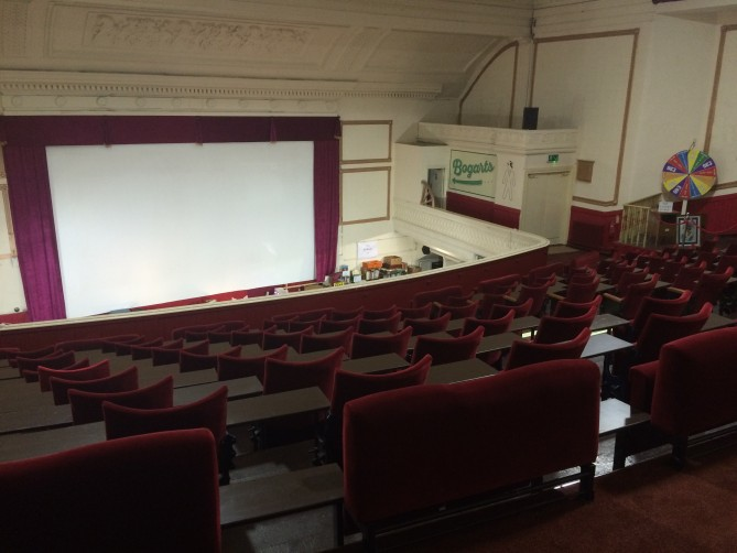 Auditorium at Blackpool's Regent Cinema