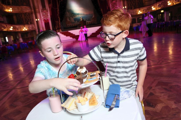 Children's Afternoon Tea at The Blackpool Tower