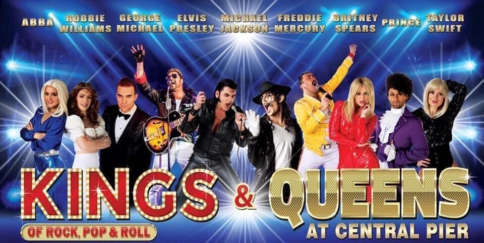 Kings and Queens Blackpool Central Pier Showbar Tickets
