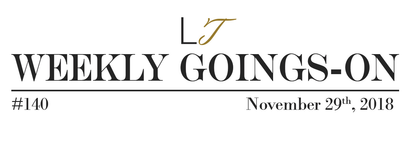 Weekly Goings-On - Blackpool Events November 30th - December 6th