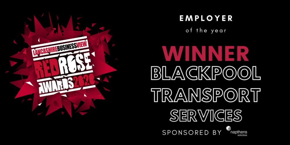 Red Rose Winners Blackpool Transport