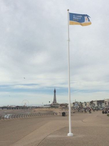 Blackpool 2017 Seaside Award Flag