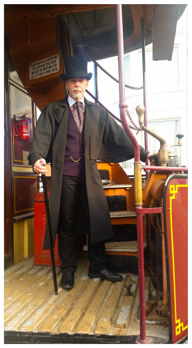 Stephen Mercer Blackpool Heritage Tram Tours Ghost Tram