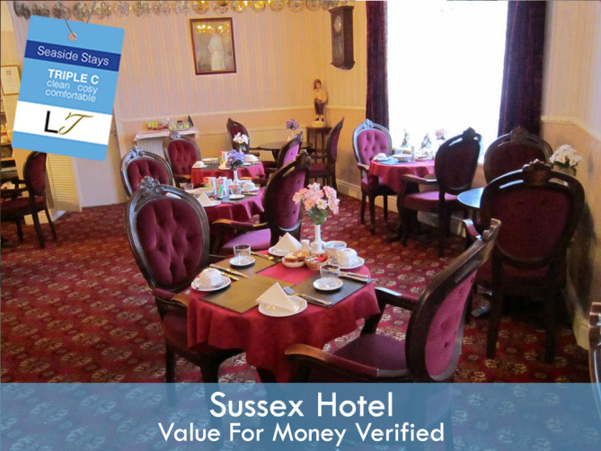 Cheap Blackpool Hotels Sussex Hotel North Shore