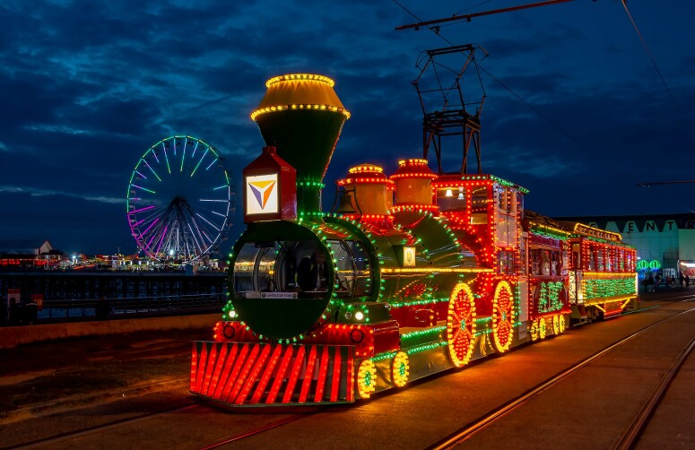 Famous Blackpool Tram Needs Your Help Getting Back On The Tracks