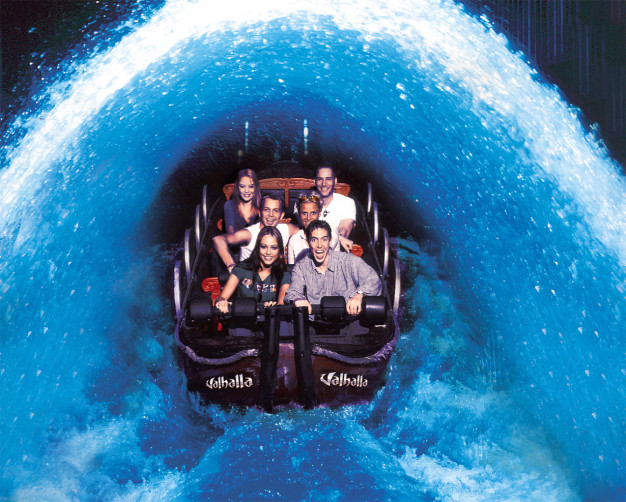 Valhalla Boat Blackpool Pleasure Beach