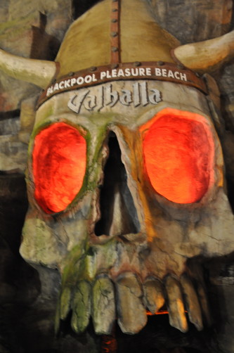 Valhalla Skull Blackpool Pleasure Beach