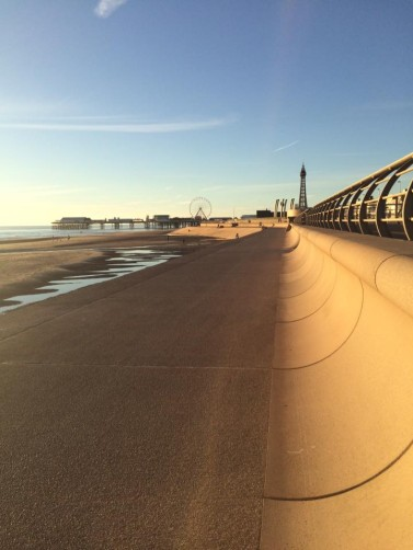 Blackpool's Stand-Out Shoreline - World's 2nd Best