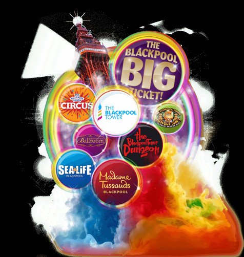 BUMPER BUNDLE with Merlin's Blackpool Big Ticket