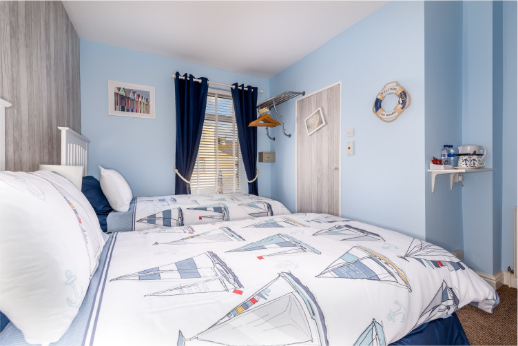 Double or Twin Room - By The Seaside, St Chads Road, South Shore, Blackpool Hotel for Families and Couples