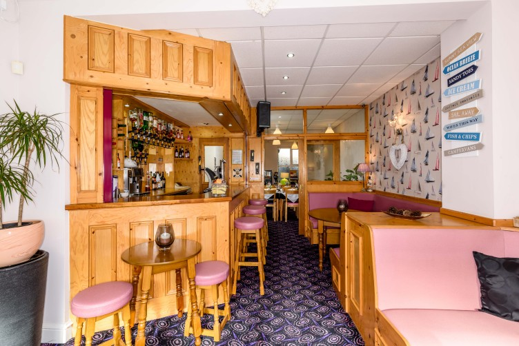 Bar Area - By The Seaside, St Chads Road, South Shore, Blackpool Hotel for Families and Couples