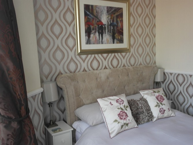 Superior Double Room - Delamere Hotel, Charnley Road, Central Blackpool Hotel for Families and Couples