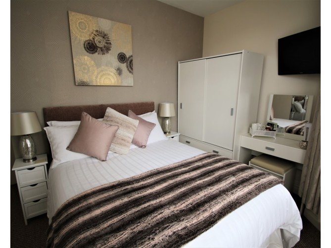 Deluxe Double Room - The Inglewood Hotel, Holmfield Road, North Shore, Blackpool Hotel for Adults Only