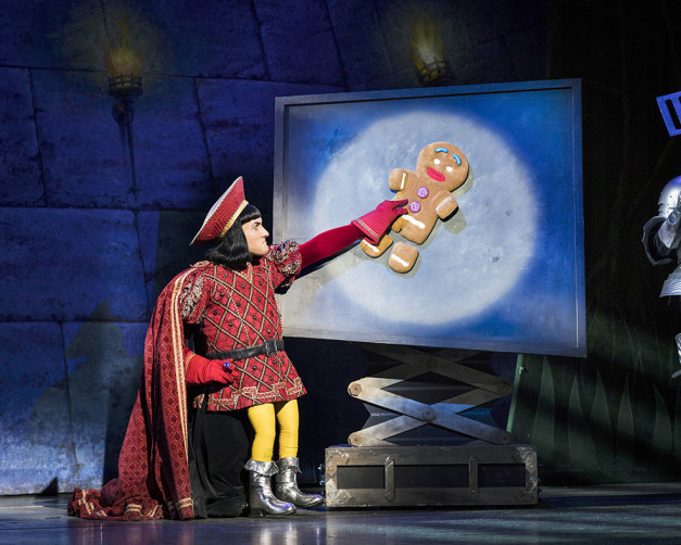 Samuel Holmes as Lord Farquaad. Shrek the Musical.