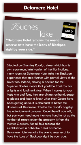 Families & Couples Blackpool Delamere Hotel Review