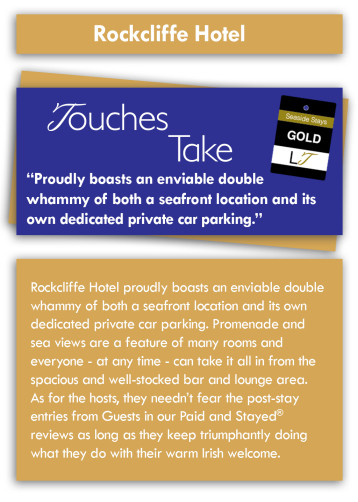 Touches Take Review - Rockcliffe Hotel, North Promenade, North Shore, Blackpool Hotel for Families and Couples