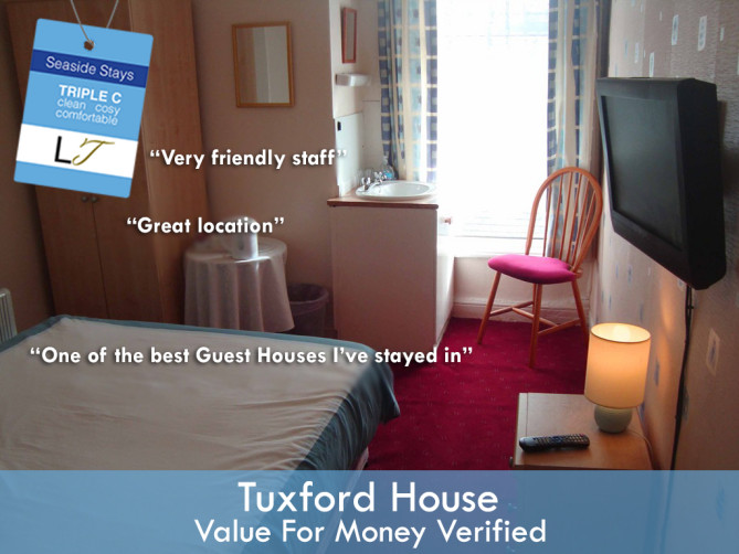 Cheap Blackpool Hotels Tuxford House South Shore